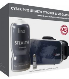 Linx Cyber Pro Stealth Real Feel Stroker and VR Headset - Shop-Naughty.co.uk